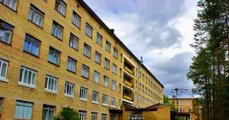 Центральный корпус Ухтинской городской больницы