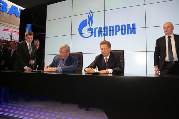 Подписание соглашения на XXI МЭФ в С.-Петербурге, Фото предоставлено пресс-службой при Главе Республики Коми