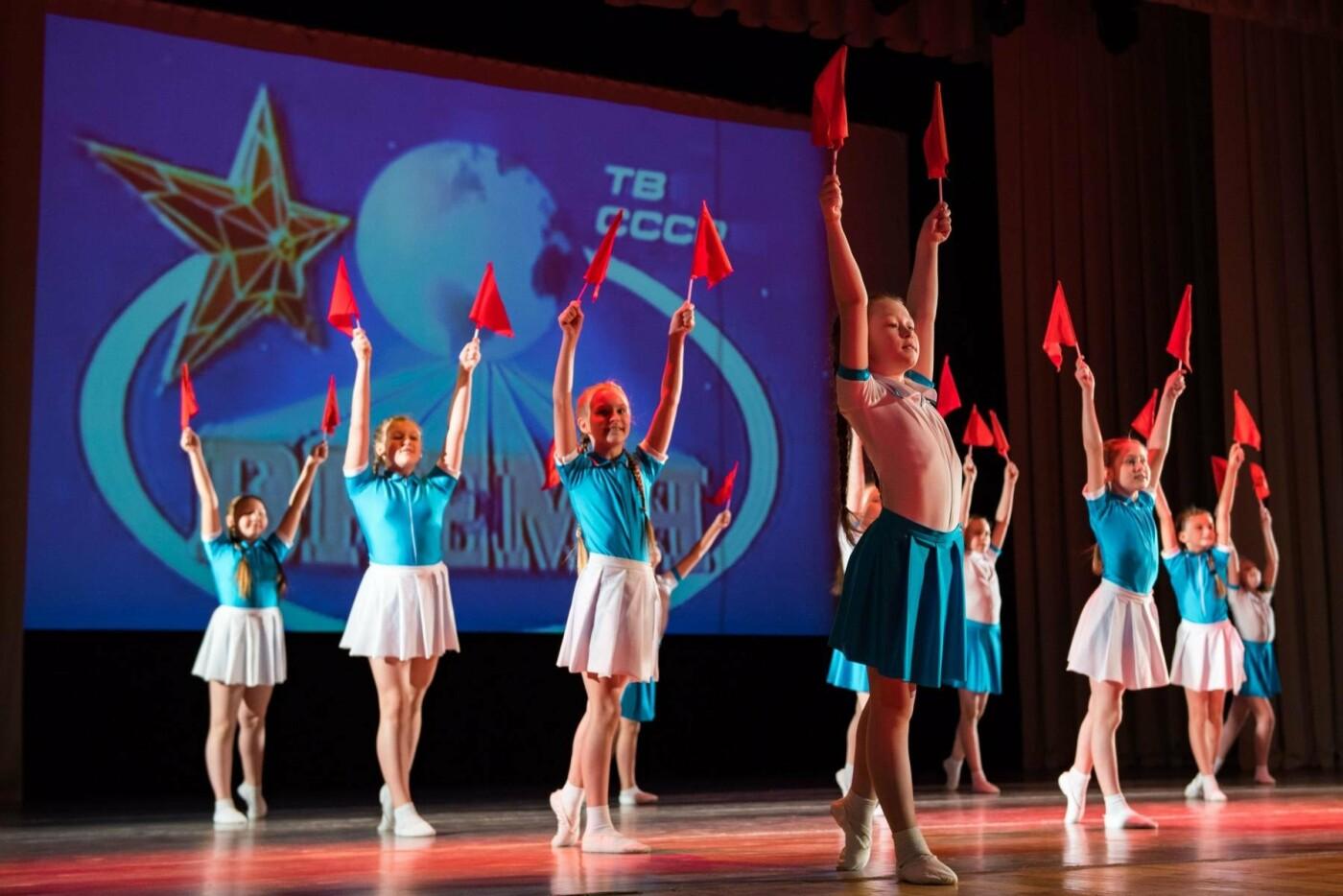 Выступление детского танцевального коллектива на подмостках концертного зала ЦДК - Фотография предоставлена пресс-службой администрации МОГО «Ухта»