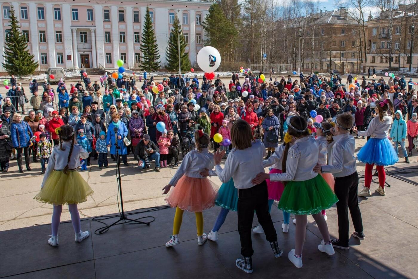 Выступление детского певческого коллектива - Фото предоставлено пресс-службой АМОГО «Ухта