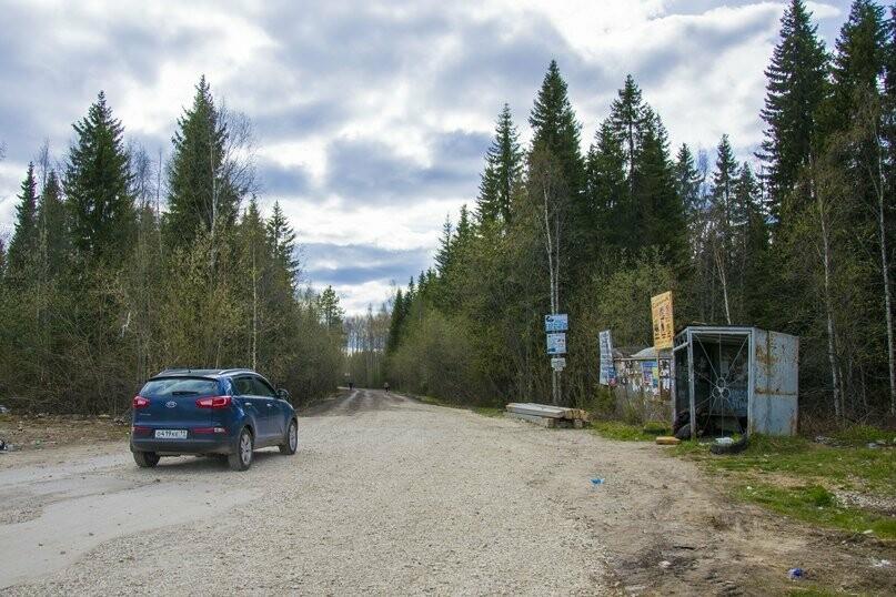 Дорога на территории дачного массива - Фото предоставлено пресс-службой АМОГО «Ухта»