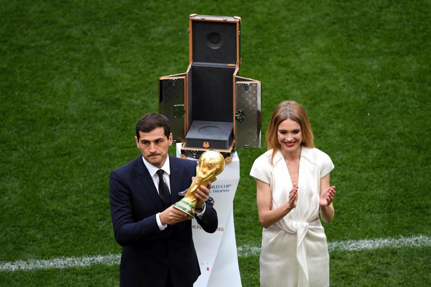 Презентация Кубка чемпионата мира ФИФА - Фото предоставлено пресс-службой Международной федерации футбола