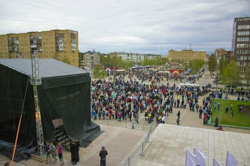 Праздник у ГДК - Фото предоставлено ппресс-службой администрации «Ухта»