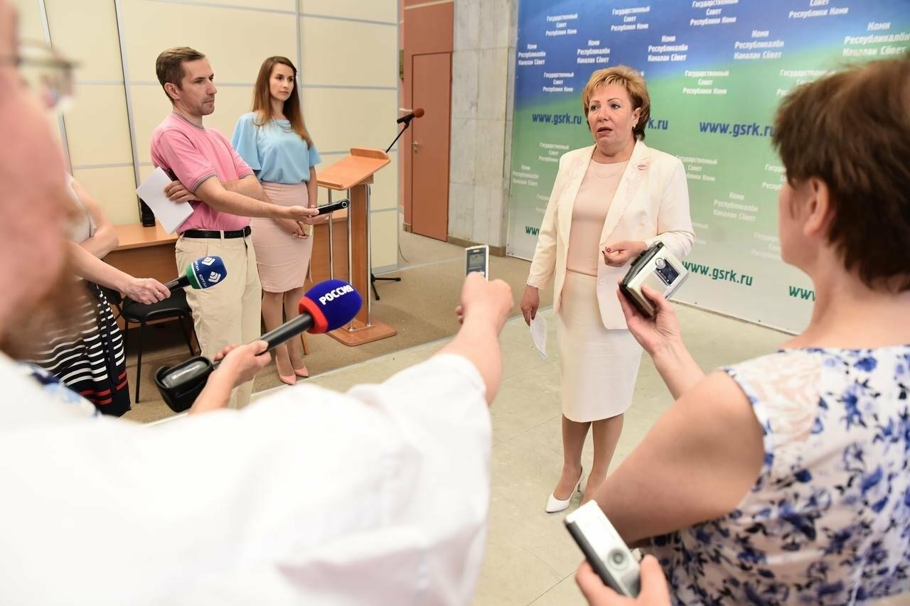 Председатель Госсовета Надежда Борисовна Дорофеева - Фото предоставлено пресс-службой Государственного Совета Республики Коми
