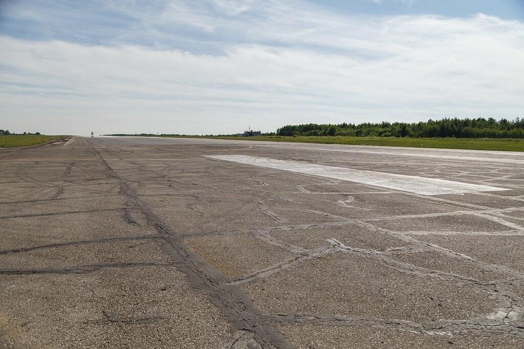Взлетная полоса аэропорта Ухты, Фото предоставлено пресс-службой Администрации Главы Республики Коми