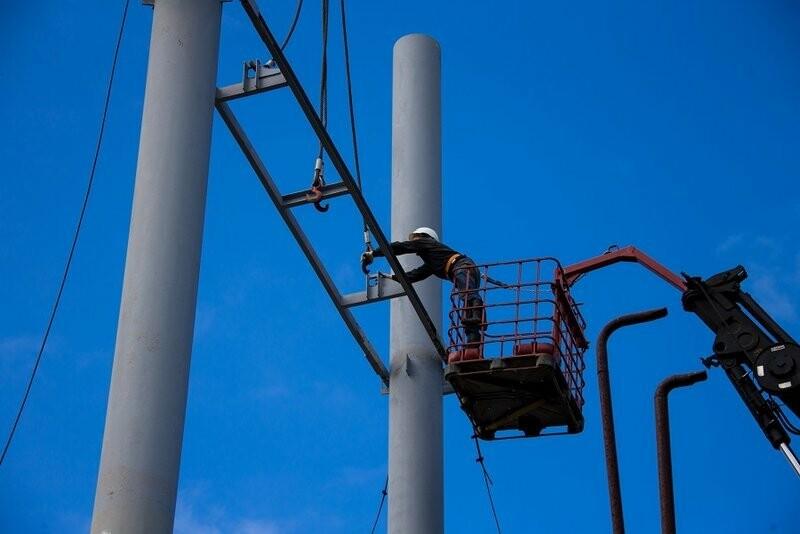 Сотрудники компании теплогенерирующей компании производят плановый ремонт узлов и агрегатов на объектах в Ухтинском районе