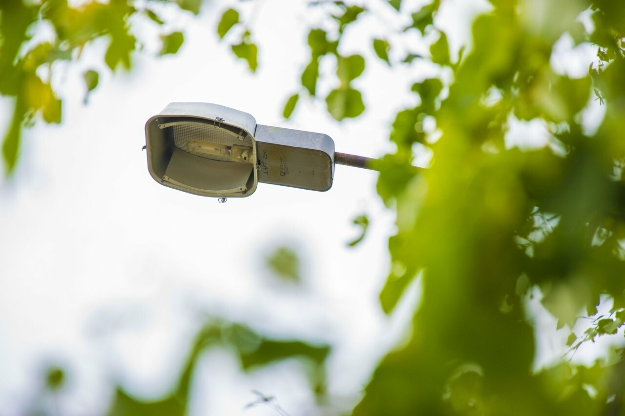 Подлежащая замене натриевая лампа уличного освещения