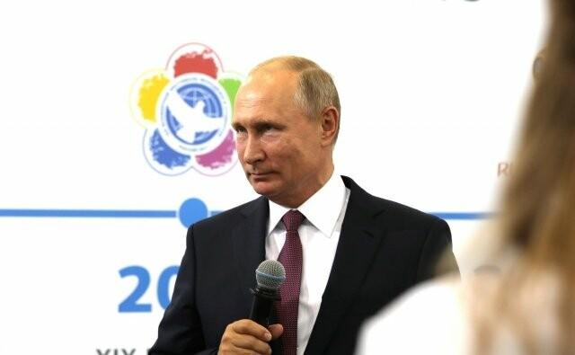 Путин принимает участие в открытии Универсиады-2019, фото-1