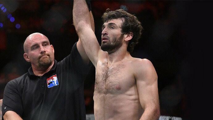 Россиянин Магомед Шарипов победил американца на турнире UFC, фото-1