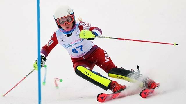 Российская горнолыжница Екатерина Ткаченко победила в гигантском слаломе на Универсиаде, фото-1