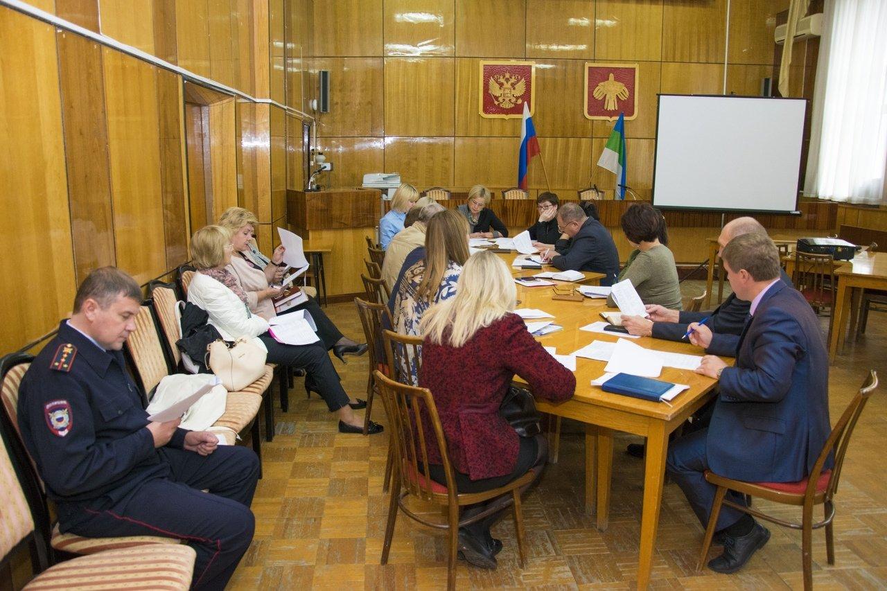 Совещание в администрации Ухты, посвященное подготовке к проведению торжеств в честь Дня города