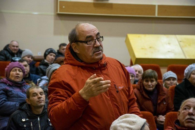Встреча руководства муниципалитета с жителями Яреги