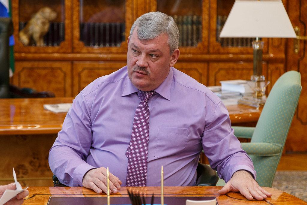 Глава Республики Коми С. А. Гапликов в ходе рабочей встречи